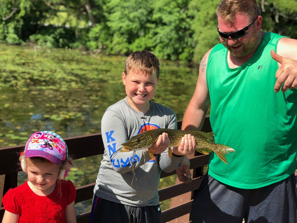 Family Fishing Day August 1st