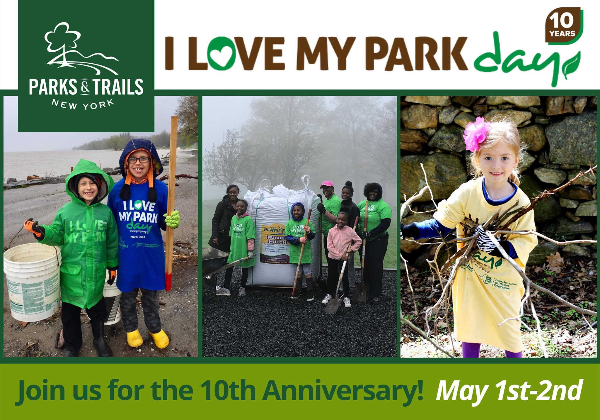 I Love My Park Day May 1, 2021